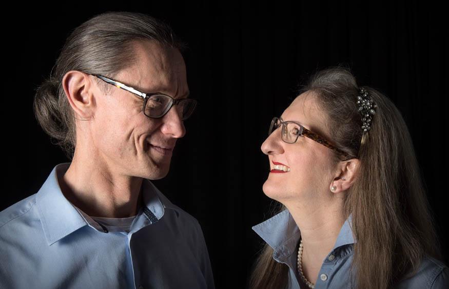"""Gaby Strasky (Seminar """"Was ist Liebe?"""") hier mit Lebenspartner Gerd"""