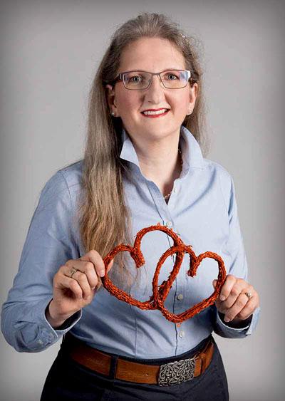 Gabriele Strasky, Liebescoach, Partnervermittlung, Seminare zum Thema Liebe & Partnerschaft (Foto: www.watschka.at)