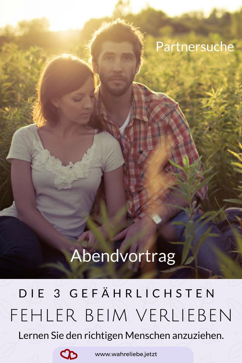 Die 3 gefährlichsten Fehler beim Verlieben - Ein Abendvortrag von Gabriele Strasky