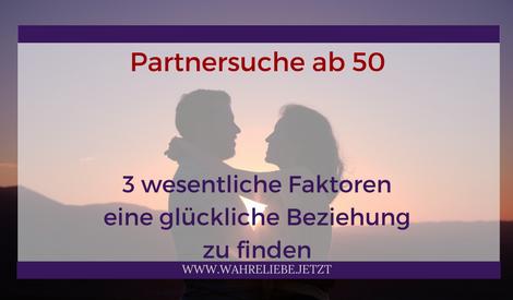 Partnersuche über 50 erfahrungen
