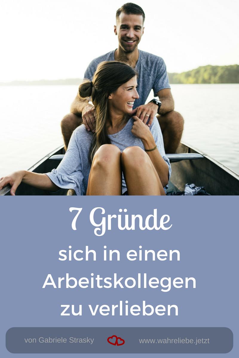 7 Gründe sich in einen Arbeitskollegen zu verlieben - von Gabriele Strasky